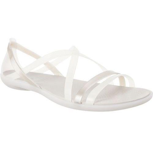 Sandały isabella strappy sandal oyster/pearl white oyster/pearl white marki Crocs