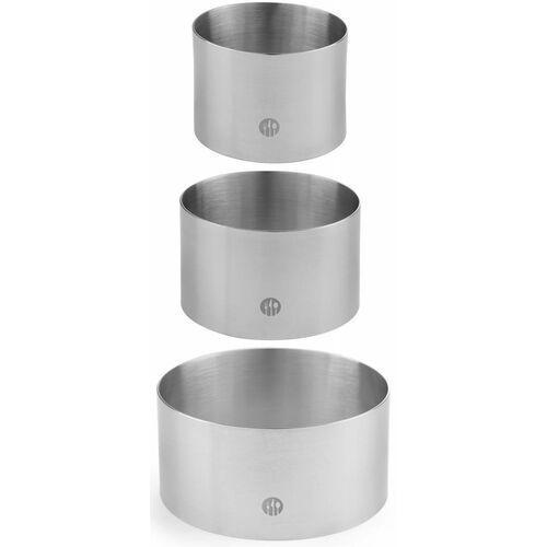Hendi Pierścień kucharsko-cukierniczy ze stali nierdzewnej | śr. 60 - 90mm - kod Product ID