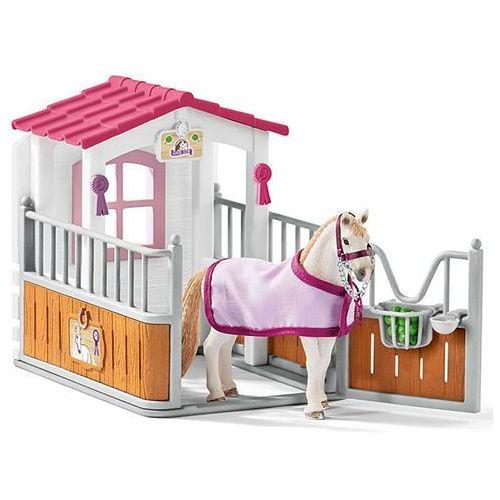 Schleich ZAGRODA dla koni + KLACZ LUZYTAŃSKA Figurka 42368