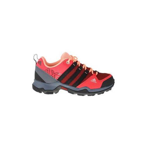 Buty dla dzieci terrex ax2 cp k - czerwony marki Adidas