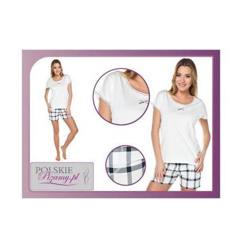 Piżama damska arte: śmietankowa biel marki Italian fashion