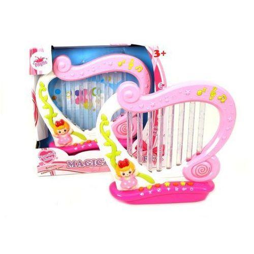 Playme, harfa, duża, dźwięk i światło marki Brimarex