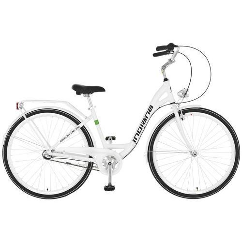 Rower INDIANA Moena A3B Biały + DARMOWY TRANSPORT! + 5 lat gwarancji na ramę! z kategorii Pozostałe rowery