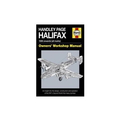 Handley Page Halifax Manual 1939-52 (All Marks)