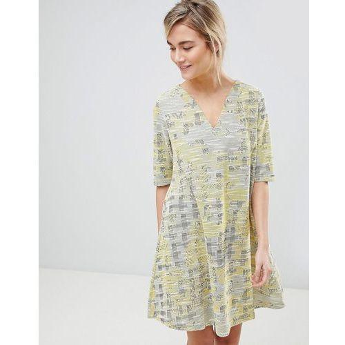 dress in tapestry weave fabric - yellow marki See u soon