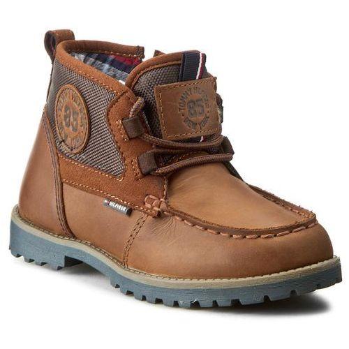 Trzewiki TOMMY HILFIGER - Houston Jr 5C FB56821697 Winter Cognac 906 z kategorii kozaczki dla dzieci