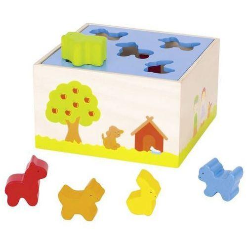 Goki Sorter do zabawy dla dzieci - dom dla zwierząt (4013594586658)