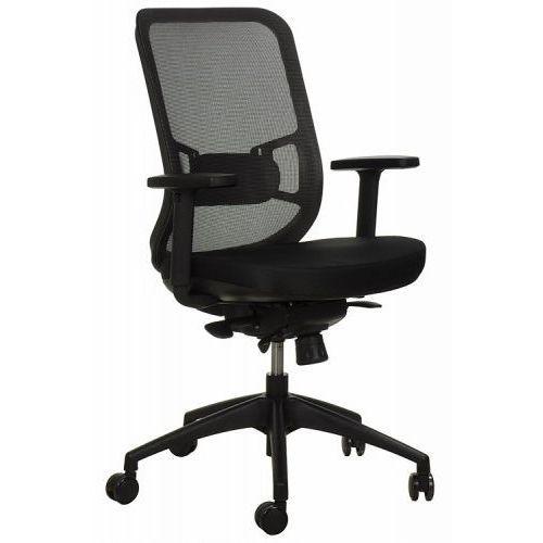 Krzesło obrotowe biurowe GN-310/SZARY z wysuwem siedziska