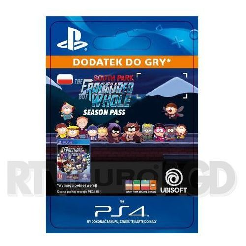 Sony South park: the fractured but whole - season pass [kod aktywacyjny]