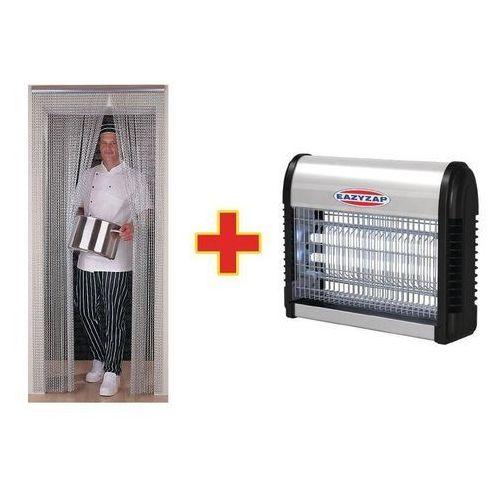 Eazyzap Lampa owadobójcza i zasłona przeciw owadom | 90x(h)195cm