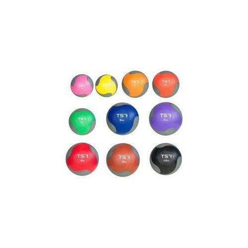 piłka lekarska kauczukowa- fioletowy, 7 kg - fioletowy \ 7 kg marki Tsr