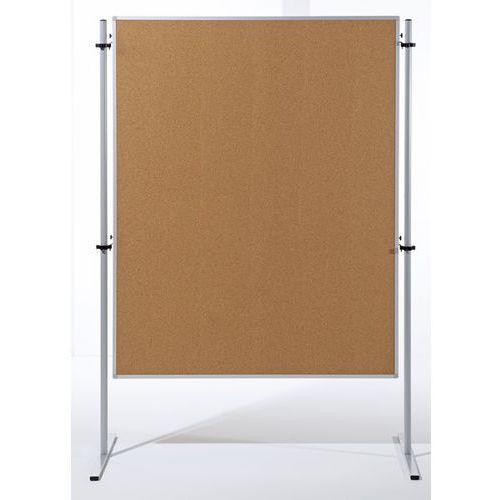 Ścianka funkcyjna, wys. x szer. 1500x1200 mm, korek naturalny, opak. 1 szt. Zawi