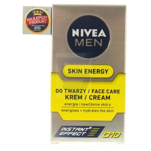 NIVEA FOR MEN Regenerujšcy krem Q10 Skin Energy 50ml, kup u jednego z partnerów