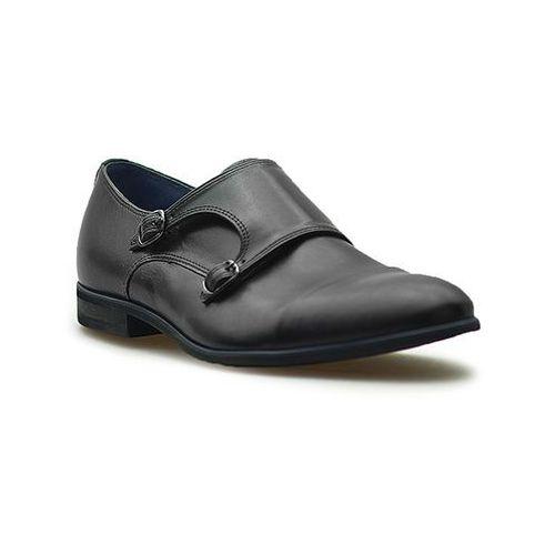 Pantofle 605 czarne lico marki Duo men