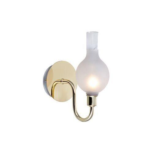 Kinkiet LAMPA ścienna LIBERTY 106381 Markslojd łazienkowa OPRAWA IP44 biała mosiądz