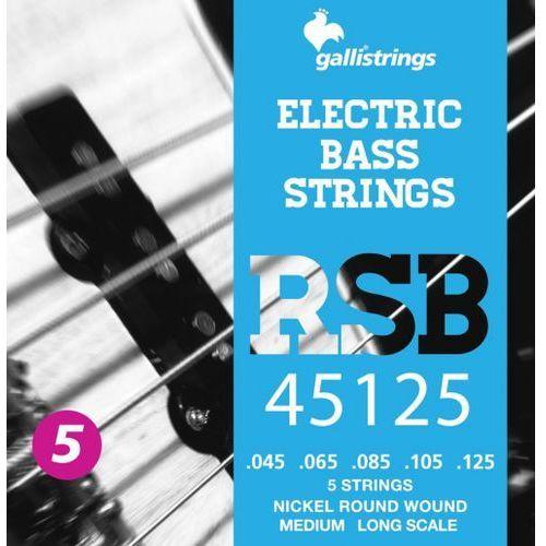 rsb45125 - struny do gitary basowej marki Galli