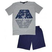 Star wars - gwiezdne wojny Męska piżama star wars szara xxl