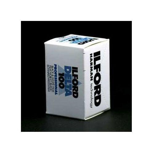 delta iso 100/36 małoobrazkowy negatyw czarno-biały typ 135 marki Ilford