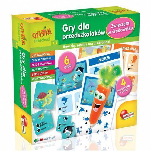 Liscianigiochi Carotina gry dla przedszkolaków (8008324061204)