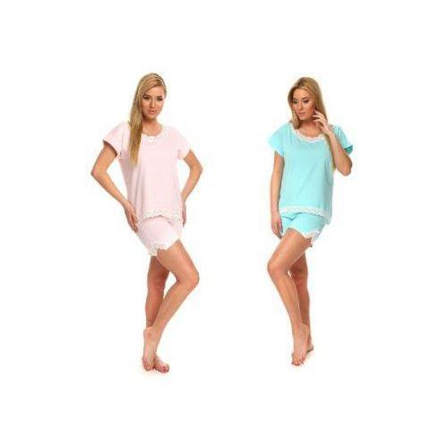 Italian fashion Piżama damska gracja kolor: różowy