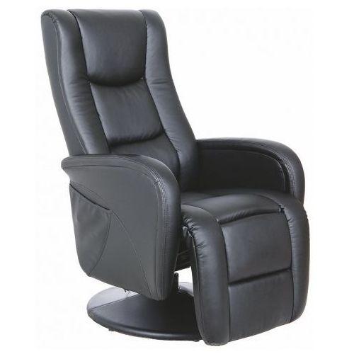 Fotel rozkładany Litos  czarny kolor czarny
