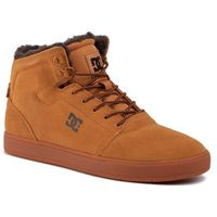 Sneakersy - crisis high wnt adys100116 tan/brown(tbn) marki Dc