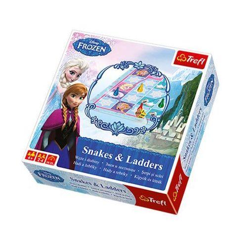 Gra - Węże i drabiny Frozen TREFL, AM_5900511012064