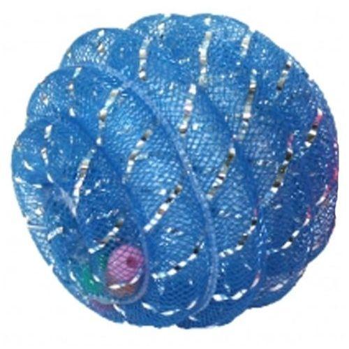 Kolorowa piłka dla kota - wewnątrz grzechoczące kulki marki Happypet