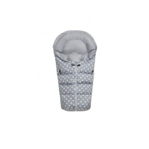 odenwälder Śpiworek do fotelika puch Dauni Ornamento cool grey
