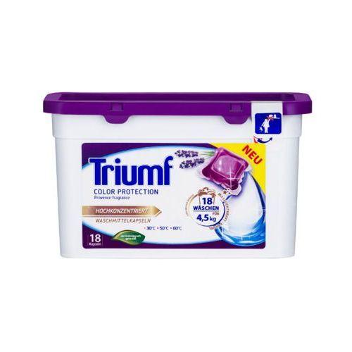 18szt color protection kapsułki do prania kolorowych tkanin marki Triumf