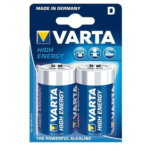 Varta 2 baterie mono d high energy