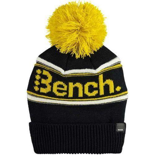czapka zimowa BENCH - Turn Up Bobble Beanie Black Beauty (BK11179) rozmiar: OS