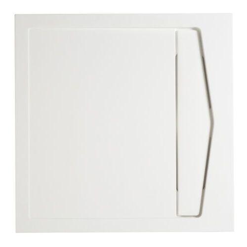 Brodzik konglomeratowy Cooke&Lewis Helgea kwadratowy 90 x 90 x 4 5 cm, 1138028-90NP
