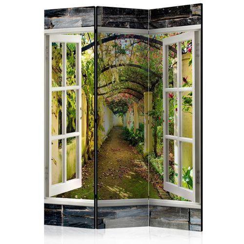 Artgeist Parawan 3-częściowy - tajemniczy ogród [parawan]