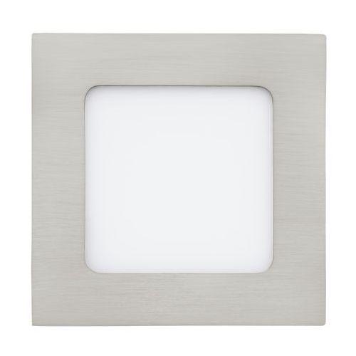 Plafon Eglo Fueva 1 94522 lampa sufitowa oczko 1x5,5W LED nikiel mat / biały