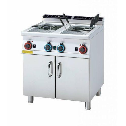 Rm gastro Urządzenie do gotowania makaronu gazowe | 2x25l | 16320w | 800x700x(h)900mm