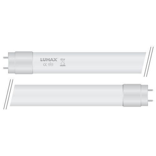 Świetlówka Lumax LED T8 10W 60cm 230V 850lm 270ST 2700K ciepła zasilanie dwustronne LT101, LT101
