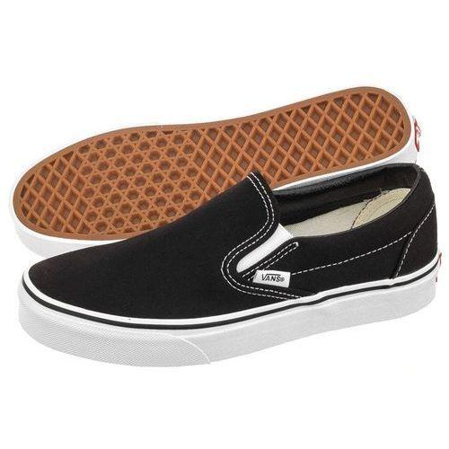 Buty Vans Classic Slip-On Black VN-0EYEBLK (VA6-a), kolor czarny