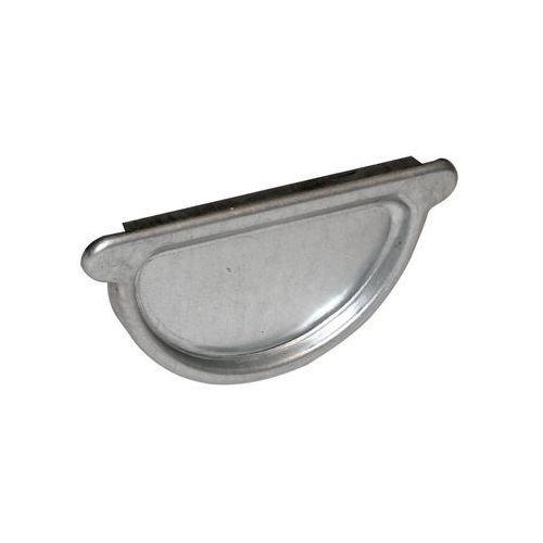 Zaślepka do rynny z uszczelką 105 mm ocynkowana marki Ocynkline