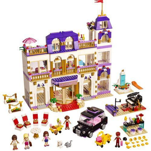 Friends Friends Grand Hotel w Heartlake 41101 marki Lego - klocki dla dzieci