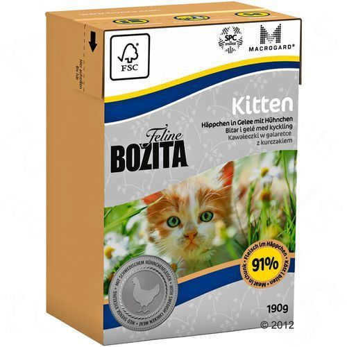 BOZITA 190g Kitten karma dla kociąt (7300330020604)