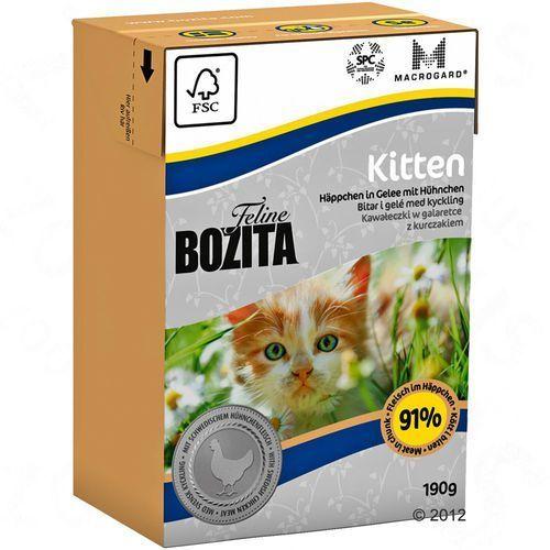 Bozita Kitten 190g ## CHARYTATYWNY SKLEP ## 100% ZYSKU SKLEPU NA POMOC PSIAKOM:) (7300330020604)
