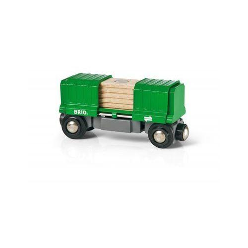Brio Wagon kolejowy zielony 33561