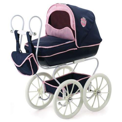 Hauck  klasyczny wózek dla lalek navy granatowy (4894352878150)