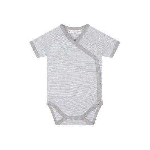 SENSE ORGANICS Baby Body dziecięce YGON pinny stripes grey marl, kolor szary