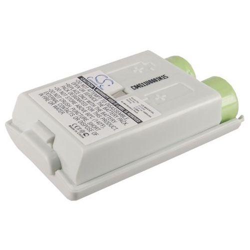 Microsoft Xbox 360 Slim Wireless Controller / 411246 1500mAh 3.6Wh Ni-MH 2.4V biały (Cameron Sino), CS-MSX361SL