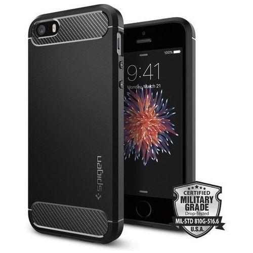 SPIGEN SGP Etui Rugged Armor Apple iPhone 5/5s/SE (rugged ip5) Darmowy odbiór w 21 miastach!