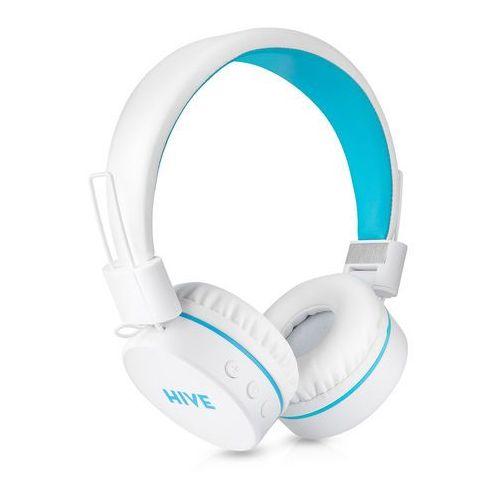 Niceboy słuchawki nauszne HIVE, biały - BEZPŁATNY ODBIÓR: WROCŁAW!