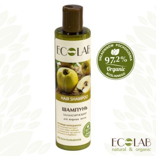 Eo laboratorie - zrównoważony szampon do przetłuszczających się włosów marki Le cafe de beaute