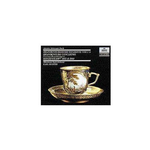 Deutsche grammophon 6 brandenburg concertos / 2 konzerte / concertos: bwv 1055 + 1060 (0028942714328)
